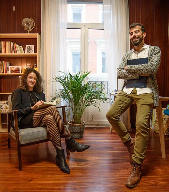 Andrés Galemiri y Lidia Crespo Prisma Psicología Bilbao
